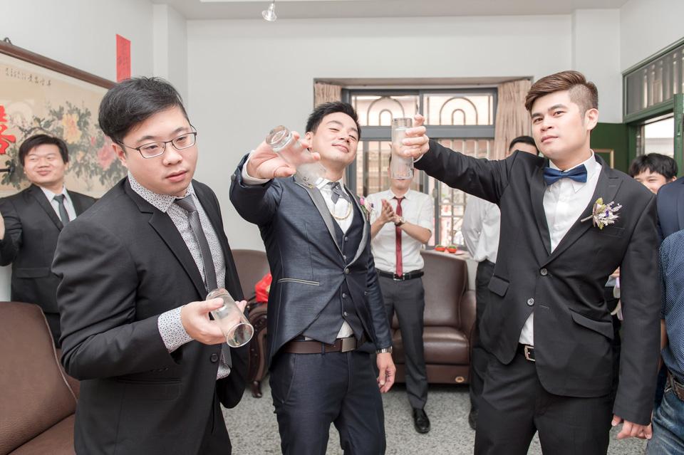 台南婚攝 婚禮紀錄 情定婚宴城堡 C & M 034