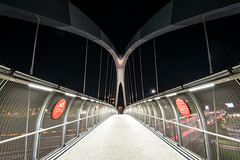 Milano -Bridge (ilic photographer) Tags: milano milan bridge night