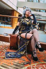 Luo Tianyi () (btsephoto) Tags: cosplay costume play  animefest afest anime convention dallas texas sheraton hotel fuji fujifilm xt1 yongnuo yn560 iii flash portrait luo tianyi canary version vocaloid  vocaloid3 3 v3 fujinon xf 23mm f14 r lens