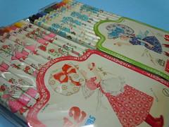 Kirin 12 colorful pencil set (My Sweet 80s) Tags: kirin madeinjapan 12colours colorfulpencils matitecolorate setmatite foumierar astucciomatitecolorate