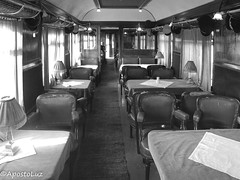 Orient Express ((GreenCross Photography)) Tags: train orientexpress restaurant travel thessaloniki   museum voiture