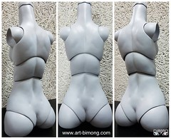 Narae60 first pre-order second modification (bimong11) Tags: narae60 new body modification joint supplement supplementation parts redeem defect silicon pad correct flaw art bimong bjd doll handwork handmade