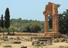 Temple of Castor and Pollux (harve64) Tags: museo archeologico agrigento sicily italy ancientruins greek temple archaeology museum castor pollux