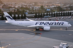 OH-LWF (Rich Snyder--Jetarazzi Photography) Tags: finnair fin ay airbus a350 a350900 a350941 a359 ohlwf arriving arrival taxi taxiing sanfranciscointernationalairport sfo ksfo millbrae california ca airplane airliner aircraft jet plane jetliner ramptowera rcta atower