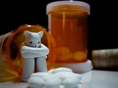 DSC03347 (IGypsyWoman) Tags: toyphotography toyart lukechueh addiction bear dcon2016 pills prescription