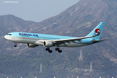 Korean Air (KE/KAL) / A330-223 / HL7538 / 02-02-2014 / HKG (Mohit Purswani) Tags: ahkgap airlinersnet demandmedia jetphotos jetphotosnet southkorea korea seoul ke kal koreanair landing arrival 25r observationdeck skydeck widebody widebodyaircraft civilaviation commercialaviation photography aviationphotography spotting planespotting 7d canon7d 100400 airbus airbusindustrie airbusa330 airbusa330200 a330 a330200 a332