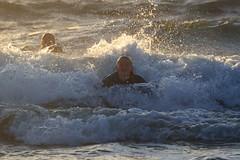 Bodyboarding at Sunset - 2 (fksr) Tags: bodyboarding boogieboarding waves surf sunset beach dillonbeach marincounty california