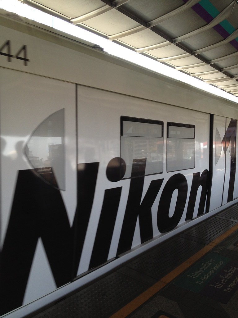 I rode the Nikon 1 train!