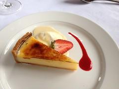 Tarte au citron, creme fraiche (tedesco57) Tags: park uk england robert joseph restaurant hotel kent hannah pam vicky lenham chilston culpepers