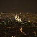 Sacre Coeur by night from Tour Montparnasse