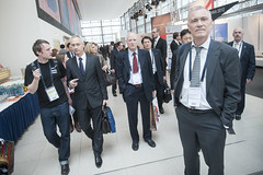 Niels Buus Kristensen among delegates at the Summit