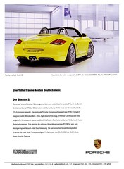 Porsche Boxster II (2010) S [Typ 987] (H2O74) Tags: auto 2 cars sports car yellow speed jaune ads advertising automobile ad performance fast convertible s voiture racing anncio amarillo gelb giallo ii coche porsche advert dreams autos werbung boxster geel cabrio  coupe reklame
