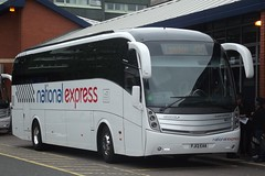 Travel DeCourcey Volvo B9R/Caetano Levante MD17 (FJ13 EAA) (National Express) (john-s-91) Tags: coventry nationalexpress md17 caetanolevante traveldecourcey volvob9r fj13eaa nationalexpressroute420