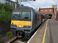 321308 Witham 19th May 2013 (Cooperail) Tags: train suffolk br norfolk railway line east locomotive eur essex cambridgeshire ecr anglia ger lner dmu 2013
