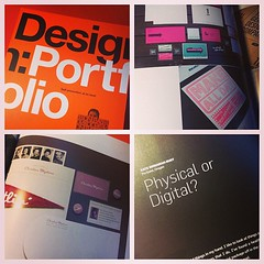 Yay! #psugd alumni @martieflo and Christine Blystone have their 472 Portfolio class self promos featured in the new book Design: Portfolio by Craig Welsh. I also contributed an essay about how not to be annoying and gross when talking to people about gett (kate*) Tags: square squareformat mayfair iphoneography instagramapp uploaded:by=instagram