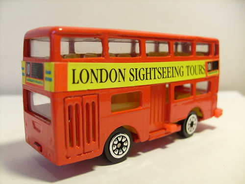 ZYLMEX DAIMLER FLEETLINE DMS NO2 LONDON SIGHTSEEING TOUR 1/64