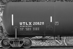 Coaltrain (This Car Excess Height) Tags: railroad train us streak railcar freight tanker moniker coaltrain utlx markalb