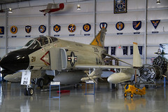 F4N Phantom II (Anna 666) Tags: arizona usa museum airport unitedstates aircraft hangar navy engine planes airforce mesa sentimentaljourney warplanes toyplanes jetplanes f4nphantomii commemorativeairforcearizonawingaviationmuseum
