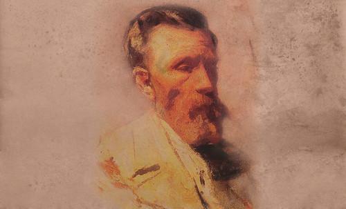 """Mentores, homenaje a Vincent van Gogh de Henri de Toulouse Lautrec (1887), y al padre de Pablo Picasso (1896). • <a style=""""font-size:0.8em;"""" href=""""http://www.flickr.com/photos/30735181@N00/8815682086/"""" target=""""_blank"""">View on Flickr</a>"""