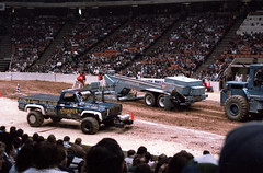 IMG_0048 (Nighthauler Photography) Tags: tractor cars truck pull meadowlands arena crushing bigfoot sled weight