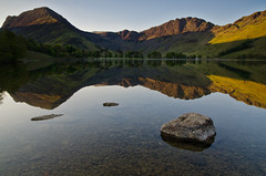 Buttermere : A little piece of paradise. (paul downing) Tags: sunrise reflections nikon filters hitech buttermere thelakedistrict 0609 gnd pd1001 d7000 pauldowning pauldowningphotography