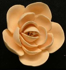 Small Jasmine No wire - Peach 3cm (sweetinspirationsaustralia) Tags: cupcaketoppers