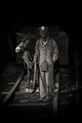 Coal Mining Youth (smbrooks_2000) Tags: sepia underground mine mining pa mines scranton coal coalmining anthracite