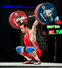 Binay TUR 69kg (Rob Macklem) Tags: tur olympic weightlifting binay 69kg