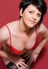 Sophie (David Fergus, Photographer) Tags: woman david girl studio nude glamour pants knickers bra sophie lingerie cannock topless denim fergus nudity staffordshire bridgtown davidfergus