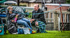 The Kiltie and the Pringle Eater (FotoFling Scotland) Tags: male beard kilt perthshire event pringles tartan kilted upkilt crieffhighlandgathering crieffhighlandgames