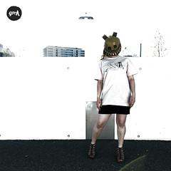 NR.II - Mask (-grell streetwear-) Tags: fashion switzerland screenprint mask tshirt streetwear graphicshirt grell grellstreetwear