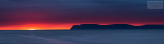 Panorama - Isafjardardjup, Iceland
