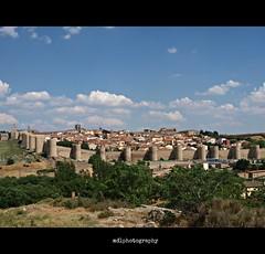 Avila / mirador (mdlphotography) Tags: city religious spain view ciudad historic espana antigua vista walls mirador avila lamancha mdlp 2013 stteresadeavila