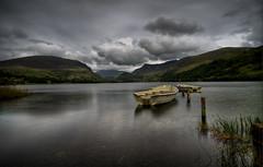 Dyffryn Nantlle - The Nantlle Valley (Paul Sivyer) Tags: lake boats snowdonia nantlle paulsivyer wildwalescom