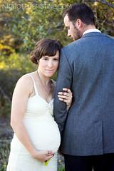 Wayland Wedding (Nichole Christine) Tags: wedding groom bride anthropologie californiawedding pregnantbride pieranch anthropologieweddingdress