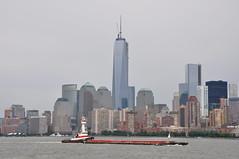 Freedom Tower (Ryan Hadley) Tags: newyorkcity usa newyork skyline river boat manhattan newyorkskyline hudsonriver skyscaper rivercruise freedomtower oneworldtradecenter