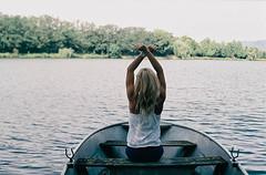 F6870020 (danischrott) Tags: portrait people lake plant flower tree film feet nature girl field forest foot boat berry dof hand natural leg pentacon f18 praktica depth pécs rossmann tumblr vsco