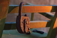 (lentina_x) Tags: закат замок стул ключ