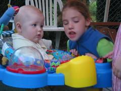 Stella & Jessie (ironandivy) Tags: stella 2004 pointlookout jesie