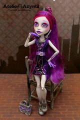 Monster High: Ghouls' Night Out Spectra (Azyntil) Tags: monster high doll ooak barbie spectra custom mattel repaint monsterhigh vondergeist