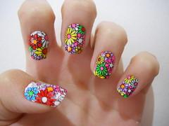 Flores - adesivo (Carolina Sacchetto) Tags: flores clubedoesmalte