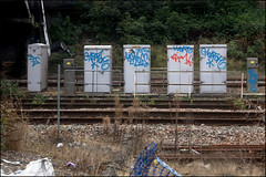 Heatoh ITS (Alex Ellison) Tags: urban its graffiti tag graff trackside northwestlondon heato heatoh heatoe