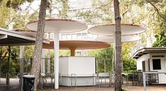 Entrance (sandronimus) Tags: autumn switzerland zurich publicbath lido strandbad tiefenbrunnen zurichsee sigma50mmf14 sonya200