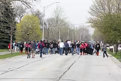 Oak Lawn Illinois - Little League Parade- 93rd and Ridgeland to Oak Park - 4-18-2015 (Rick Drew - 15 million views!) Tags: park kids children march centennial illinois baseball little parade il league oaklawn 93rdstreet paremts