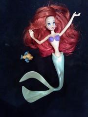 Ariel disney (gypsy_gerl) Tags: ariel doll dolls ooak disney repaint
