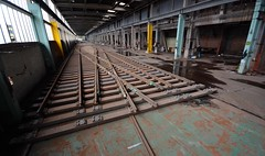 (Sam Tait) Tags: england urban abandoned industry work switch track industrial factory crossing panel rail railway diamond points switches derelict crossings ue