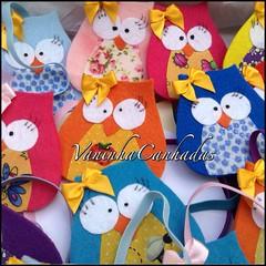 Kasamigas (vaninha.canhadas) Tags: amazing babies sweet handmade craft owl beb teatime lembrancinha corujinhas amocraft aquisecosturacomamor casamigas horadocha
