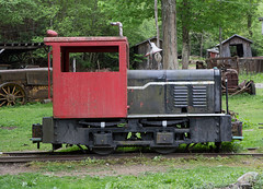 Cool Springs Critter (jterry618) Tags: tractor abandoned unitedstates caboose westvirginia derelict steamengine steamtrain narrowgauge rowlesburg steamlocomotive coolspringspark