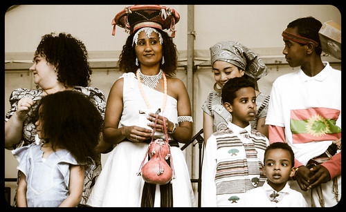 THE BEST DRESSED PEOPLE AT AFRICA DAY 2015 [FARMLEIGH HOUSE IN DUBLIN] REF-104488