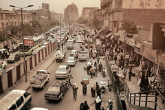 Shared space. (Simon Matzinger) Tags: street cairo egypt traffic jam congestion shared space urban city busy